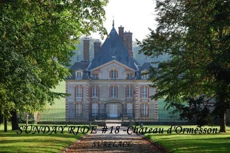 Sunday ride #18 chateau dormesson