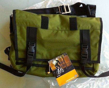 The Monty messenger bag