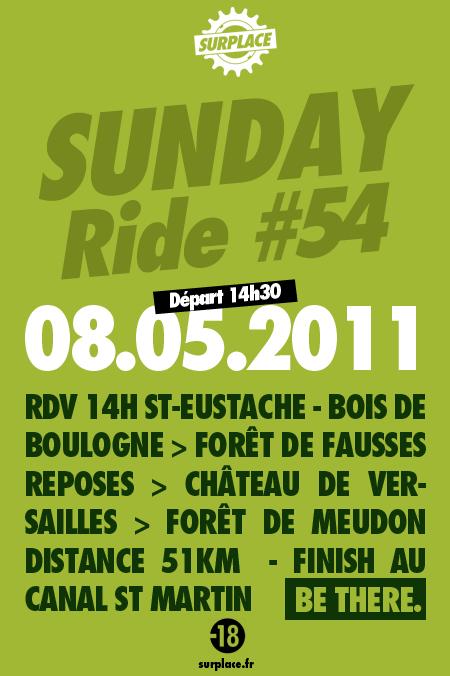 sunday ride 54