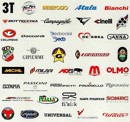Italian Racing Bicycles - logos