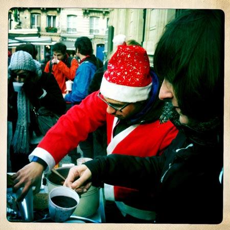 Vin Chaud x Père Noël