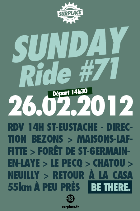 Sunday Ride 71 foret St germain