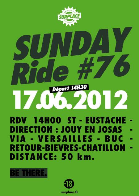 Sunday Ride #76 - Jouy en Josas