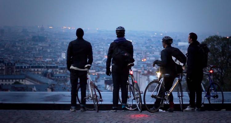 Surplace à Montmartre, Pignon fixe