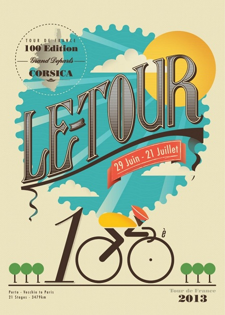 Tom REDFERN - Le Tour 2013